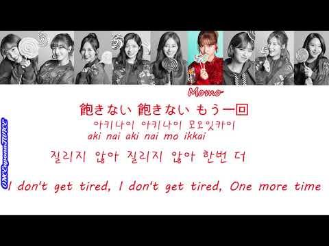 [Color Coded Lyrics] TWICE 트와이스 トゥワイス Candy Pop 캔디 팝 한국어 일본어 영어 가사 ENG KOR JPN Lyrics 日本語 歌詞