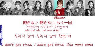 [Color Coded Lyrics] TWICE 트와이스 Candy Pop 캔디 팝 한국어 일본어 영어 가사 ENG KOR JPN Lyrics トゥワイス 日本語 歌詞