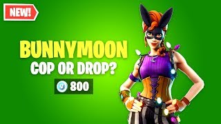 Fortnite BUNNYMOON Skin Worth it? Cop or Drop?