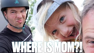 24 HOURS WITH NO MOM | DAD'S IN CHARGE | SEND HELP!