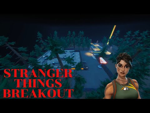 HOW TO COMPLETE STRANGER THINGS BREAKOUT BY QUENTHEIN : FORTNITE CREATIVE