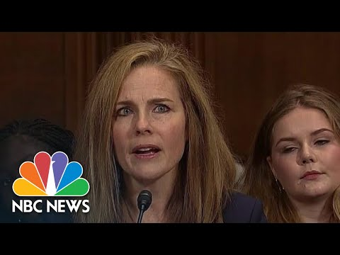 Trump To Nominate Amy Coney Barrett For Supreme Court   NBC Nightly News