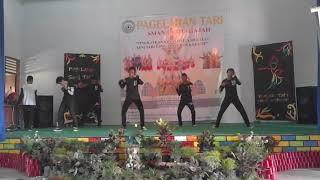 dance lagu OVERDOSE-EXO cover by ALIENZER BOYS, SMAN 1 kotagajah