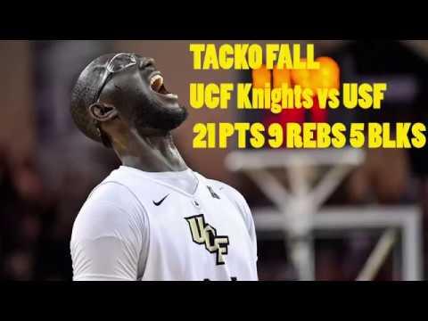 Tacko Fall 21 PTS 9 REB UCF Knights Vs South Florida | Next Ones | SEASON HIGH! |