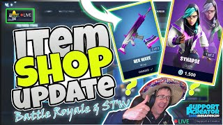 🆕MenamesCho's LIVE 🔵 SYNAPSE SKIN - FORTNITE ITEM SHOP UPDATE 🤪 BLOCK EVENT - Sat 15th June 2019