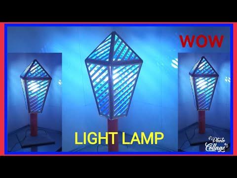 How to make night lamp table lamp/lantern