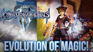 Kingdom Hearts 3 - The Evolution of Magic - News and Analysis