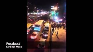 Kurdish Demonstration in Turkey Istanbul