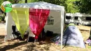 Camping LE GAREL, en Languedoc, Hérault (34). Proche de Sète, Balaruc et curistes