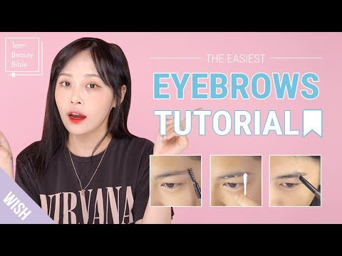 Eyebrows Tutorial 101 for Beginners | How to Shape Eyebrows & How to Fill Brows | Teen Beauty Bible
