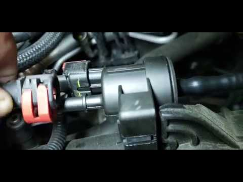 EVAP Purge Valve Replacement On 2010 - 2016 Chevrolet Cruze With 1.4L