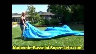 Надувной бассейн Intex Easy Set инструкция по установке(Установка надувного бассейна Intex, видео-инструкция по по установке бассейн серии Easy Set., 2013-06-22T06:30:56.000Z)