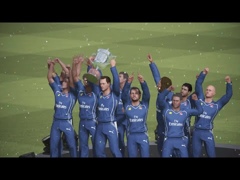 2009 IPL Final Deccan Chargers vs Royal Challangers Banglore Highlights || Ashes Cricket 17 Gameplay