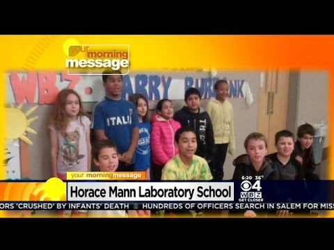 Your Morning Message: November 13, 2014: Horace Mann Laboratory School in Salem, MA