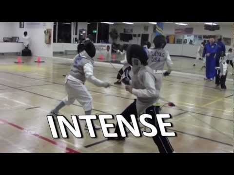 Ad for Fresno Fencing Academy