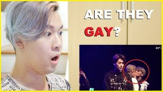 First time Reacting to WOOSAN On Top of Each Other for 11 minutes straight | ATEEZ Reaction