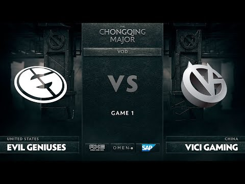 [RU] Evil Geniuses vs Vici Gaming, Game 1, The Chongqing Major LB Round 3