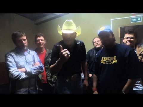 Fala Pro Pai  Bastidores coma Banda a Kavalarya Country Music