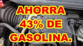 AHORRA 43% en CONSUMO DE GASOLINA. formula alcohol + gliserina + aceite + gasolina.