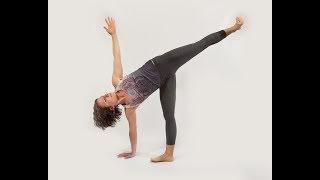 Namaskar: Moon Salutation Yoga  Flow Practice with Hope Zvara