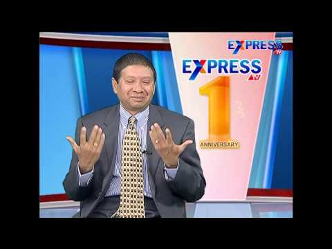 Special Interview With Dr Jayaram Chigurupati On ExpressTv 1st Anniversary