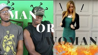 Man or Woman Reaction Challenge!!