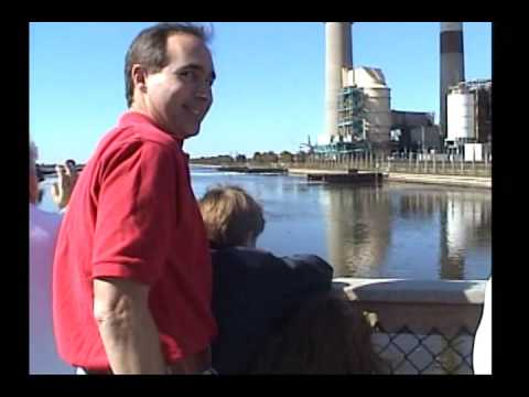 Tampa Electric Manatee Viewing Center Apollo Beach, FL January 2003 footage