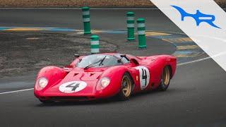1969 ferrari 312p roaring v12 3 0l at le mans classic
