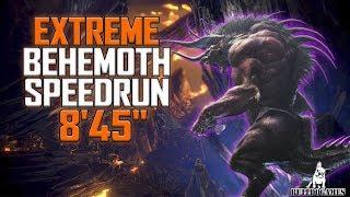 "Monster Hunter World - EXTREME BEHEMOTH SPEEDRUN 8'45"" - RECORD LATINO - ft.Erulaz"