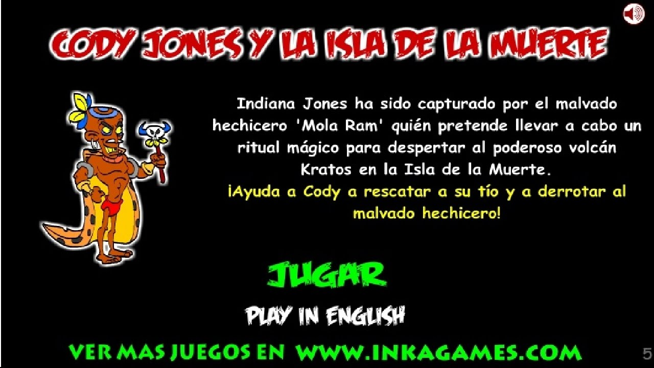 Walkthrough Inkagames Cody Jones Y La Isla De La Muerte Solución Youtube