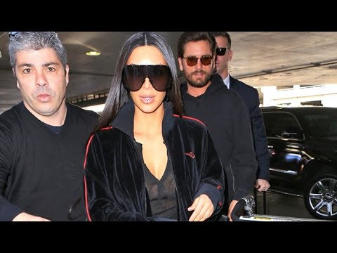 Kim Kardashian Asked If She's Getting Her Stolen Jewelry Back While Jetting To Dubai With Scott