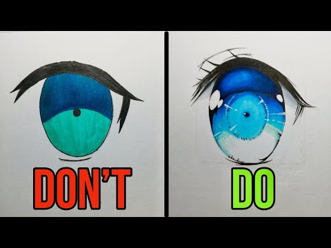 Don't VS Do | How To Draw Anime Eyes Tutorial!