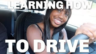 LEARNING HOW TO DRIVE WITH MY DAD!! ( AND I OOP- )