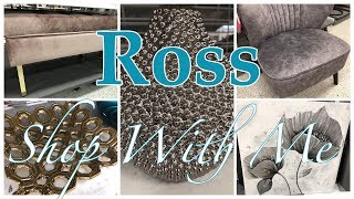 ROSS~GORGEOUS FURNITURE AND HOME DECOR~SHOP WITH ME