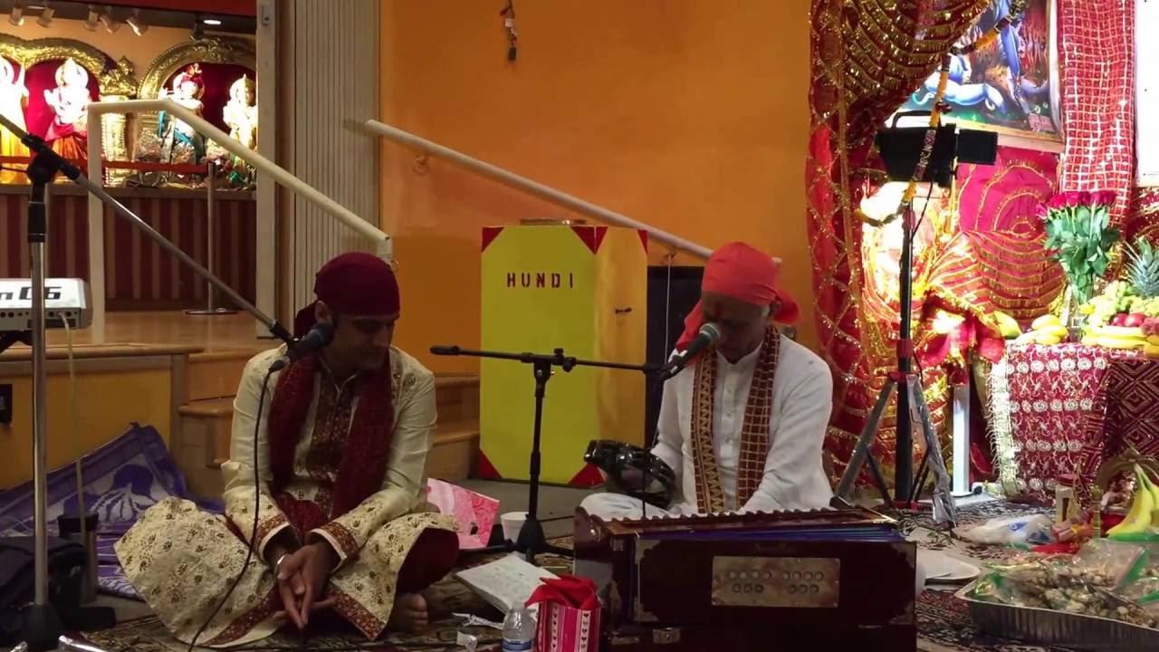 Bhagwati Jagran in Hindu Mandir Bothell Seattle WA bhajan by Satpal Sharma
