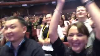 Смотреть видео Президент GREENWAY  Л Моргунов о НОВИНКАХ 2019 года, Форум компании, Москва, Крокус сити онлайн