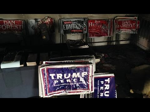 Republican HQ Firebombed in North Carolina
