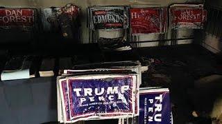 Republican HQ Firebombed in North Carolina