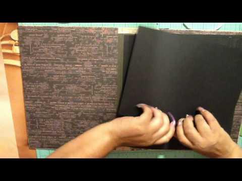 Greeting card journal keepsake album part 2 youtube greeting card journal keepsake album part 2 m4hsunfo