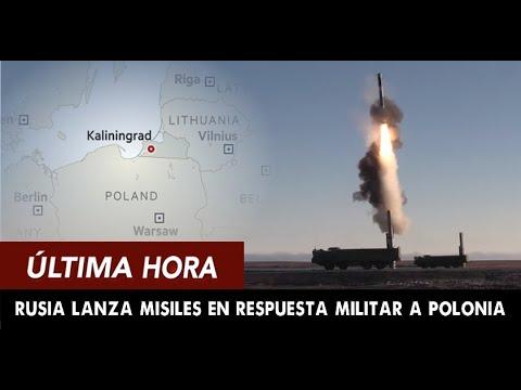 ULTIMA HORA: RUSIA Lanza MISILES Crucero En Respuesta Militar Al Desafío De Polonia