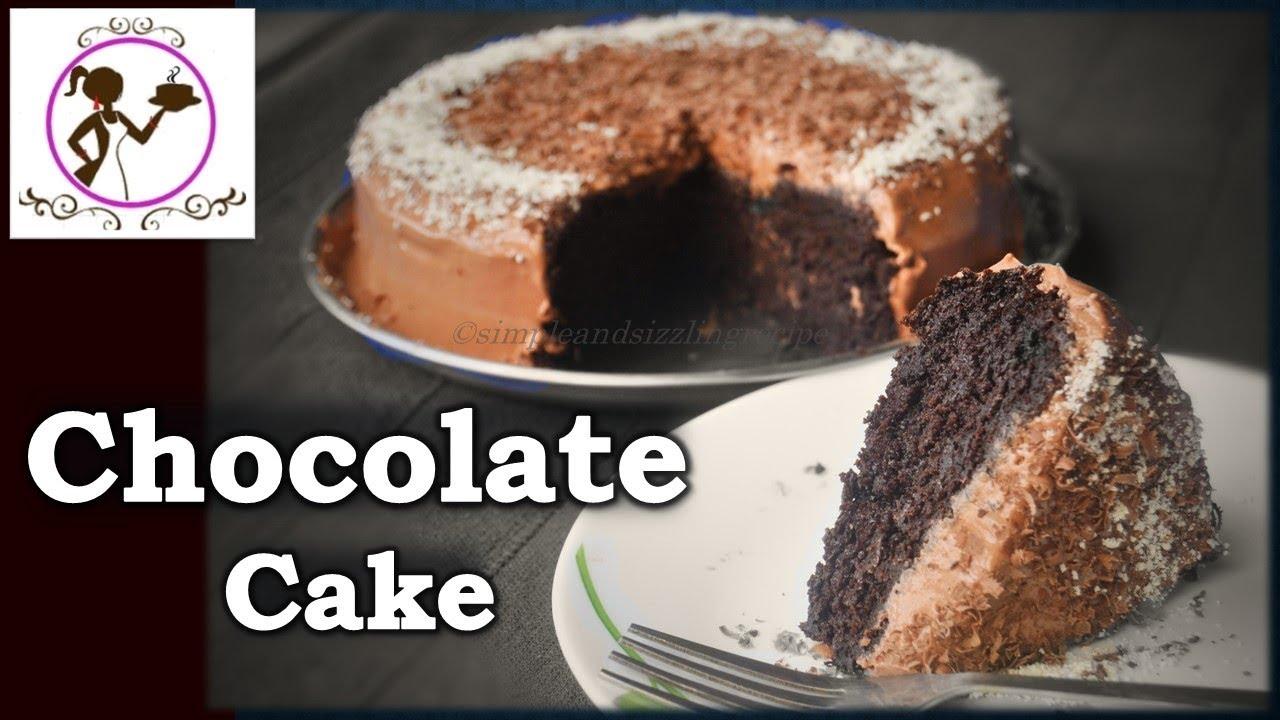 Eggless Cake Recipe In Pressure Cooker In Telugu: Eggless Chocolate Cake Recipe