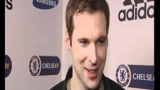 Cech Post Match Everton