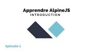 Miniature catégorie - Apprendre AlpineJS - Introduction