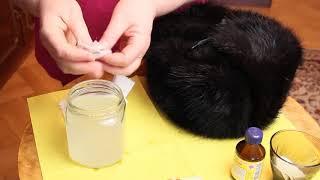 Как правильно почистить меховую шапку после зимы