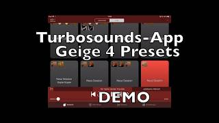 Geige Instrument Turbosounds-App DEMO