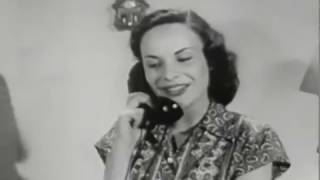 """""""Going Steady""""(Dating advice for teenagers) old 1950s film"""