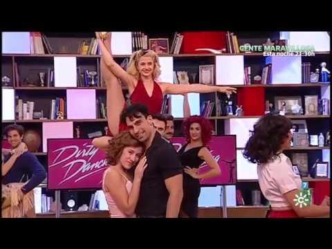 """Dirty Dancing Visita El Programa """"La Tarde Aquí Y Ahora"""" De Canal Sur."""