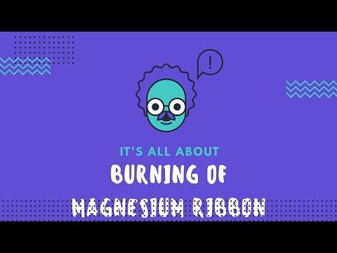 Burning Of Magnesium Ribbon