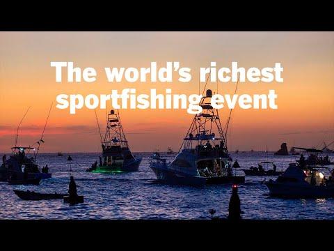 The world's richest sportfishing event: Bisbee's Black & Blue marlin tournament