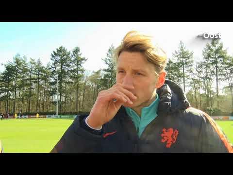 """Wout Weghorst geniet bij Oranje: """"Spannend, maar snel en goed opgevangen"""""""